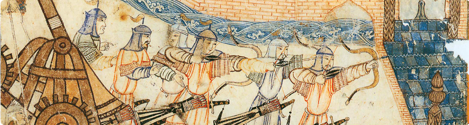 Mongol archers in the siege of Baghdad (1258)
